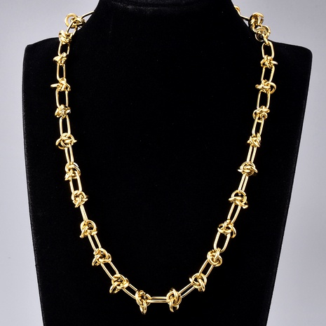 hip hop gold necklace NHAB295569's discount tags