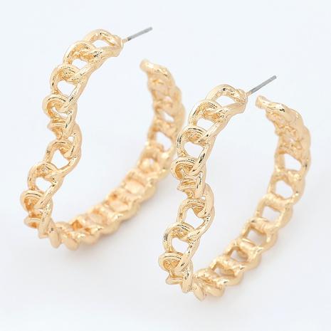 Einfache herzförmige Ohrringe aus Aluminium NHJE295662's discount tags