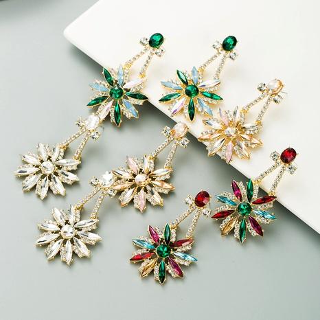 fashion rhinestone alloy earrings NHLN295685's discount tags