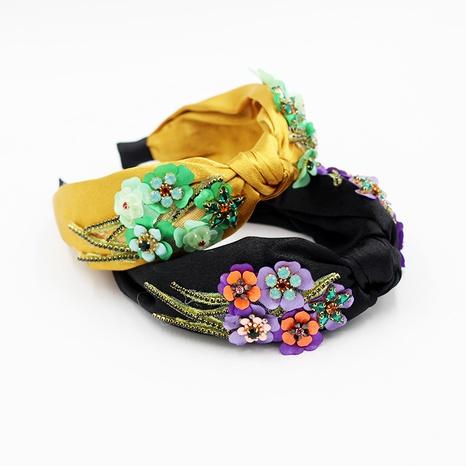 diadema de flores de moda NHWJ295695's discount tags