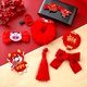 Childrens Red Headdress Set NHNA295709