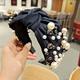 cloth nail pearl exquisite headband NHUX295736