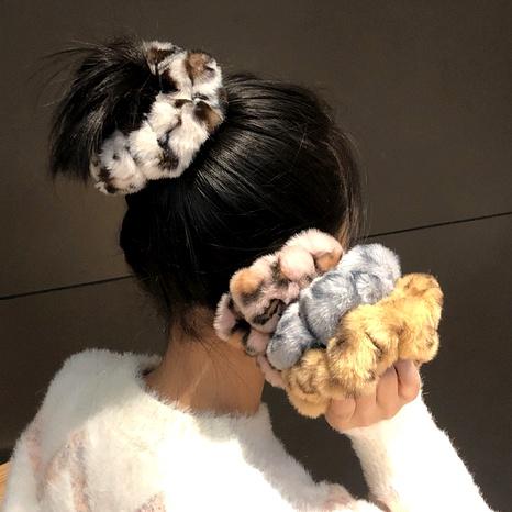 coleteros de pelo de leopardo de felpa NHRH295740's discount tags