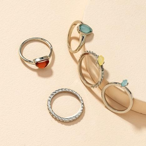 fashion 5 rings set NHGU295755's discount tags
