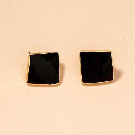 Korean simple geometric dripping earrings  NHAI295791's discount tags