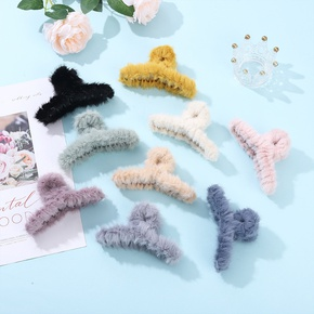 plush hair catch clip  NHCL295797
