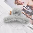 plush hair catch clip  NHCL295797