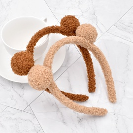 cute small balls plush headband NHCL295805