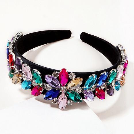 diadema barroca de diamantes de imitación de moda NHGE295814's discount tags