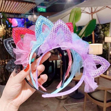 Süßes süßes Katzenohr-Stirnband der koreanischen Kinder NHSA295969's discount tags