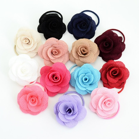 Blume Stirnband Release Kunst Gummiband Kinder Kopfbedeckung Rose Haargummi NHMO295983's discount tags