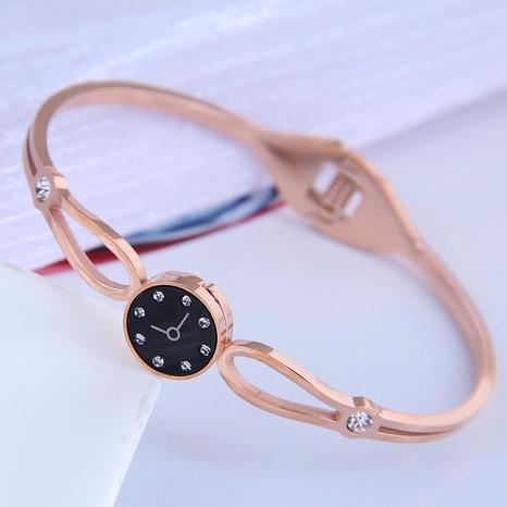 Korean titanium steel watch bracelet NHSC296215's discount tags