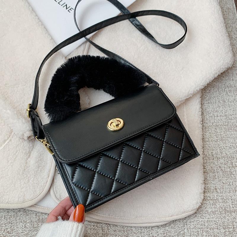 fashion simple single shoulder bag NHRU296192