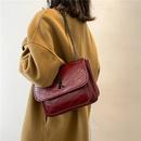 soft leather shoulder messenger chain bag  NHJZ296545