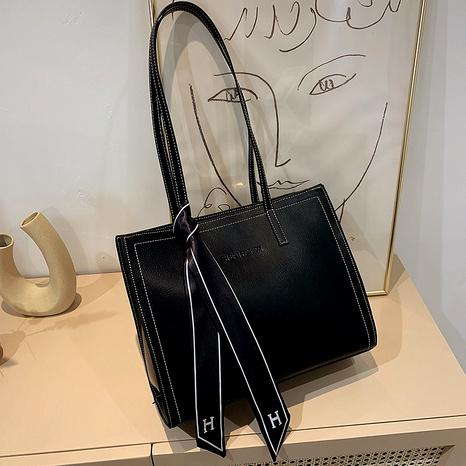 Schulterfeste Einkaufstasche mit großer Kapazität NHJZ296566's discount tags