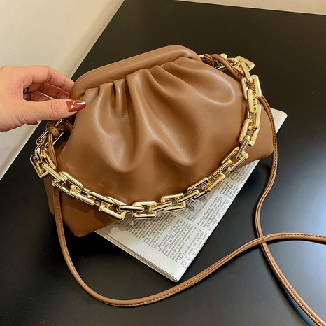 Fashion Messenger One-Shoulder-Falttasche NHJZ296579's discount tags