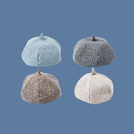 Boina retro vendedora caliente de la calabaza leopardoctagonal de la moda NHTQ258767's discount tags