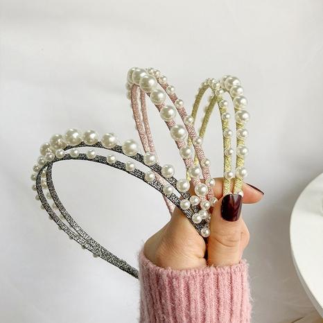 rosa süßes Perlenstirnband NHWF296607's discount tags