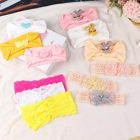 neues mehrfarbiges geflochtenes Kreuzstirnband für Kinder NHNU296633's discount tags