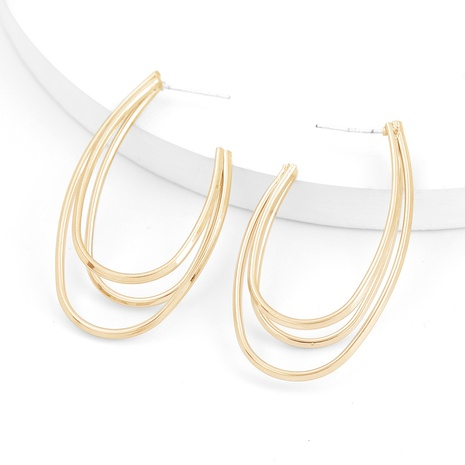 Simple alloy earrings NHJE296690's discount tags