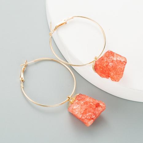 pendientes de piedra natural NHLN296718's discount tags