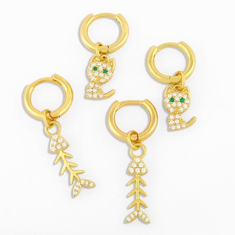 Korean fashion wild earrings NHAS296731's discount tags