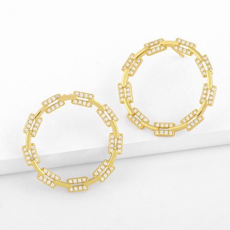 retro geometric earrings NHAS296746's discount tags