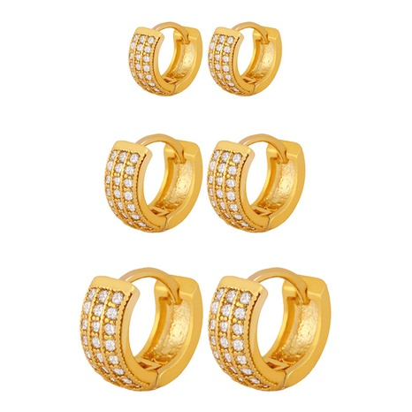 new fashion zircon earrings NHAS296747's discount tags