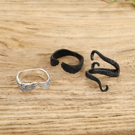 offener Ring mit einfachem Federkraken NHGO296788's discount tags