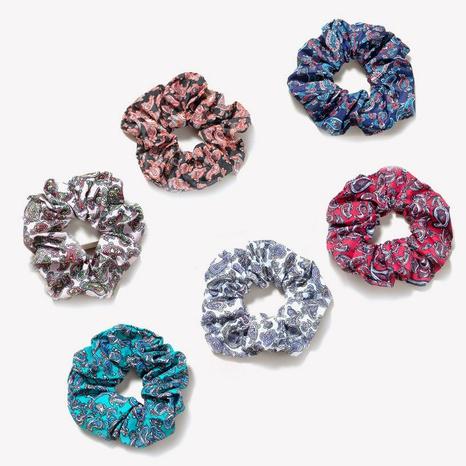neue Mode Blumen Retro All-Match Stoff Haargummis NHGE296853's discount tags