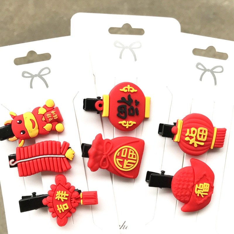 Children's Red Hairpin NHDI296864