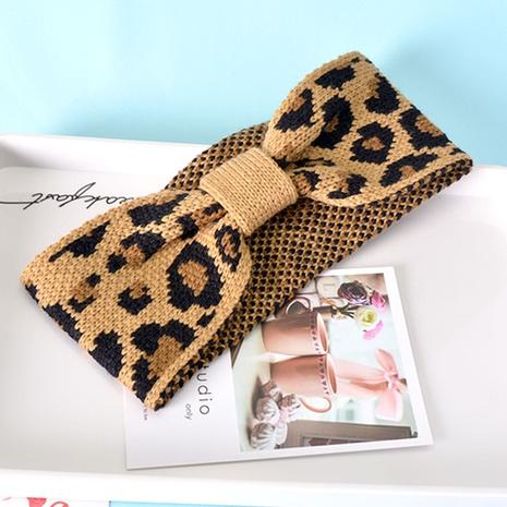 Koreanisches Stirnband mit Leopardenmuster NHAQ297028's discount tags
