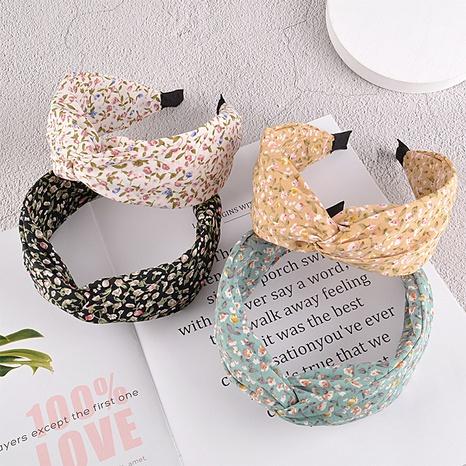 Mode Blumen Stirnband NHAQ297035's discount tags