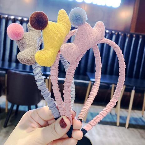 Rutschfestes rosa Stirnband für koreanische Kinder NHAQ297038's discount tags