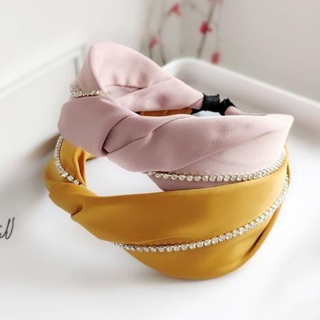Cross Fashion Stirnband aus Strassstoff NHAQ297045's discount tags