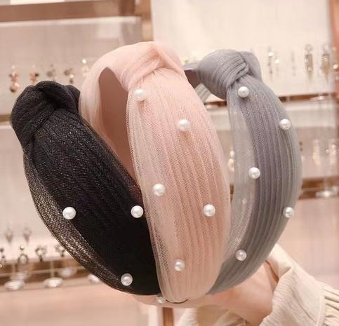 Spitzenband aus Perlmuttperlen mit breiter Krempe NHAQ297060's discount tags
