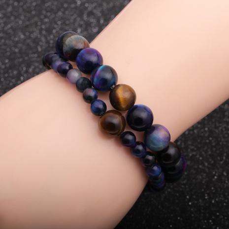 neue Fantasie Sternenhimmel Tigerauge Stein Perlen Armband NHYL297107's discount tags