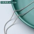 NHOK1343928-⑾Steel-color-batch-angle-chain-40+5cm