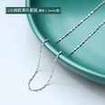 NHOK1343942-(18)-Thin-steel-color-starry-chain-40+5cm