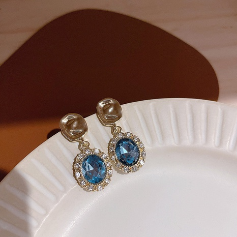 925 Silbernadel Diamantohrringe NHQC297238's discount tags
