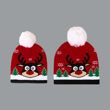 Autumn and winter fashion all-match Christmas wool ball hat  NHTQ272775's discount tags