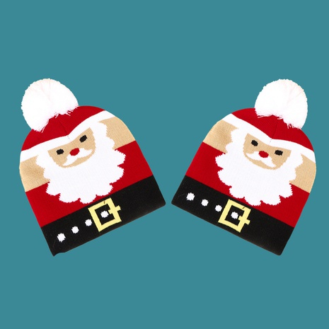Santa Claus knitted hat NHTQ272793's discount tags