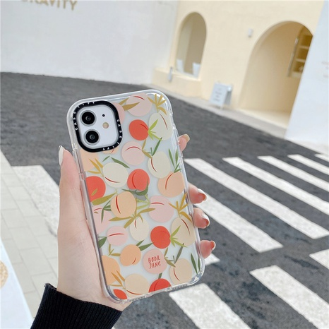 Peach Apple 11 Pro mobile phone case for iphone xs max anti-fall soft shell 8plusXR NHFI297139's discount tags