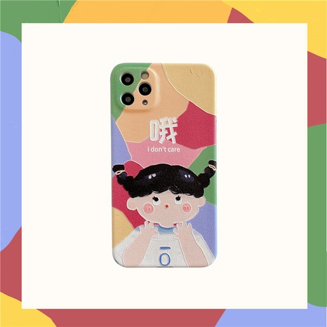 cartoon mobile phone case for apple 12mini 11pro se2 XR XS 8plus NHFI297145's discount tags