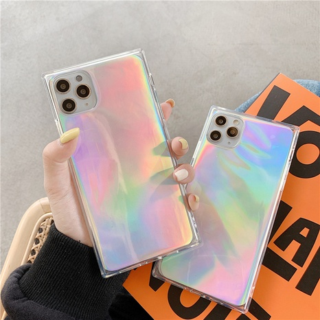 laser transparent soft shell mobile phone case for Apple 11Pro xsmax X SE2 XR 7plus NHFI297152's discount tags