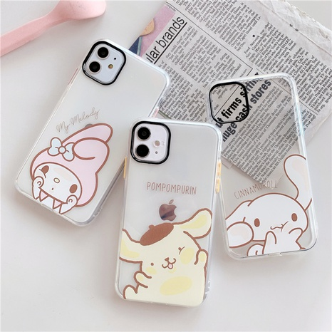 cute cartoon Apple 11Proxsmax mobile phone case for iphone xs8plus NHFI297167's discount tags