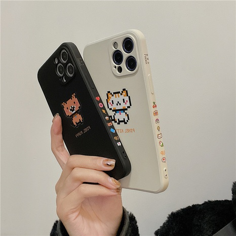 cartoon cute cats and dogs 12mini11pro liquid phone case for Apple 8PLUSse2 NHFI297171's discount tags