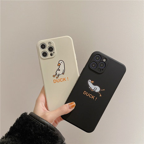 cute cartoon duck duck 12mini11pro liquid phone case for Apple 8PLUSse2 NHFI297172's discount tags
