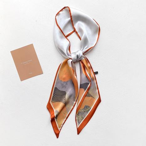 Foulard long en soie Korea NHCJ297216's discount tags