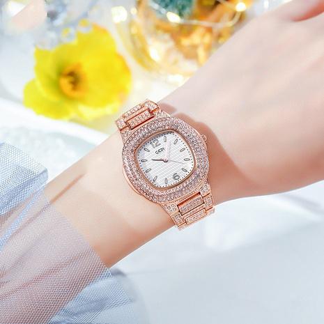 steel band fashion diamond waterproof watch  NHSR297409's discount tags